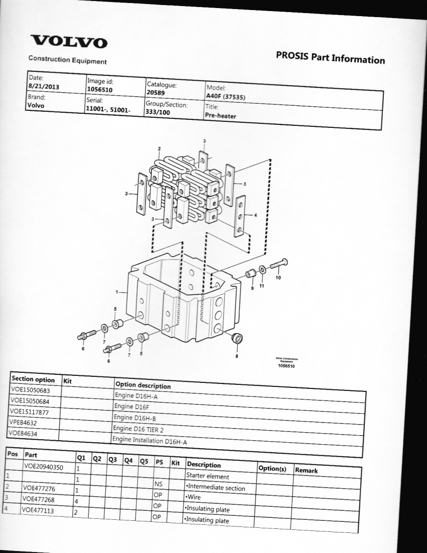 Can You Show Me A Picture Of The Inlet Air Heater On Volvo D13 630 Wiring Diagram Graphic