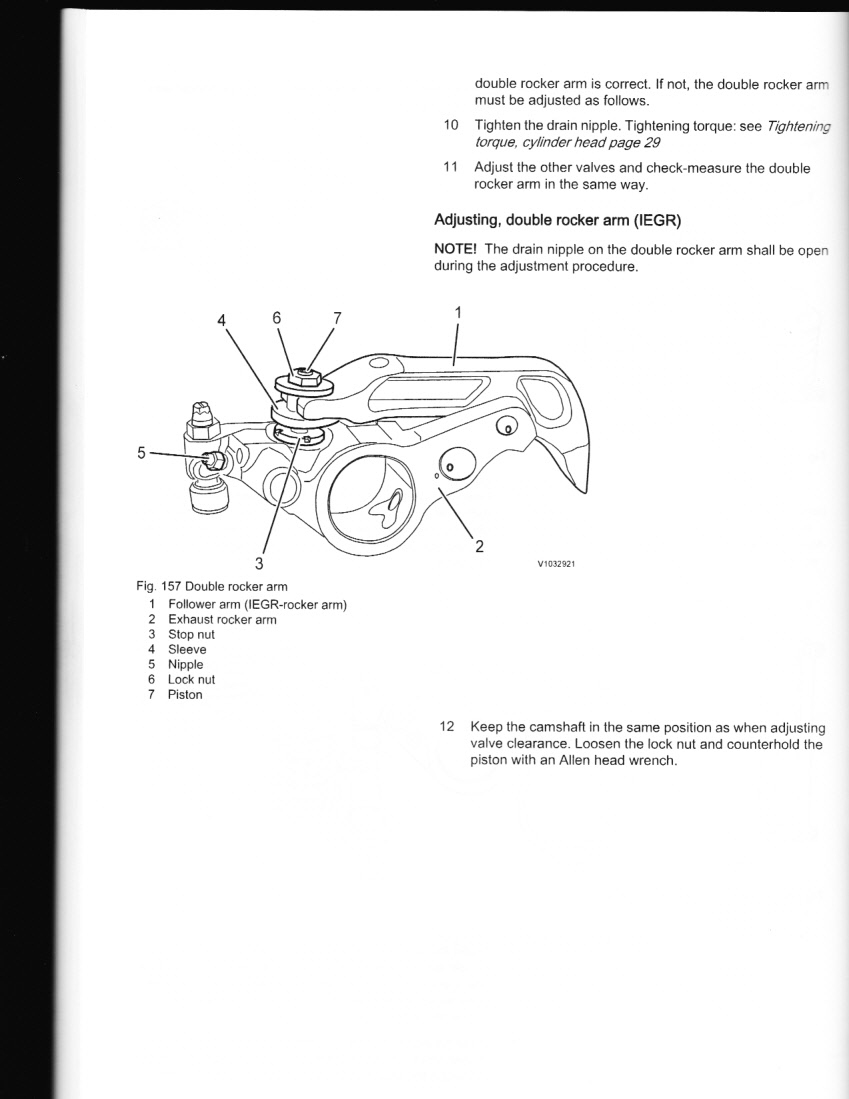 how to check and adjust valves and injectors on volvo ved d12d 465 rh justanswer com