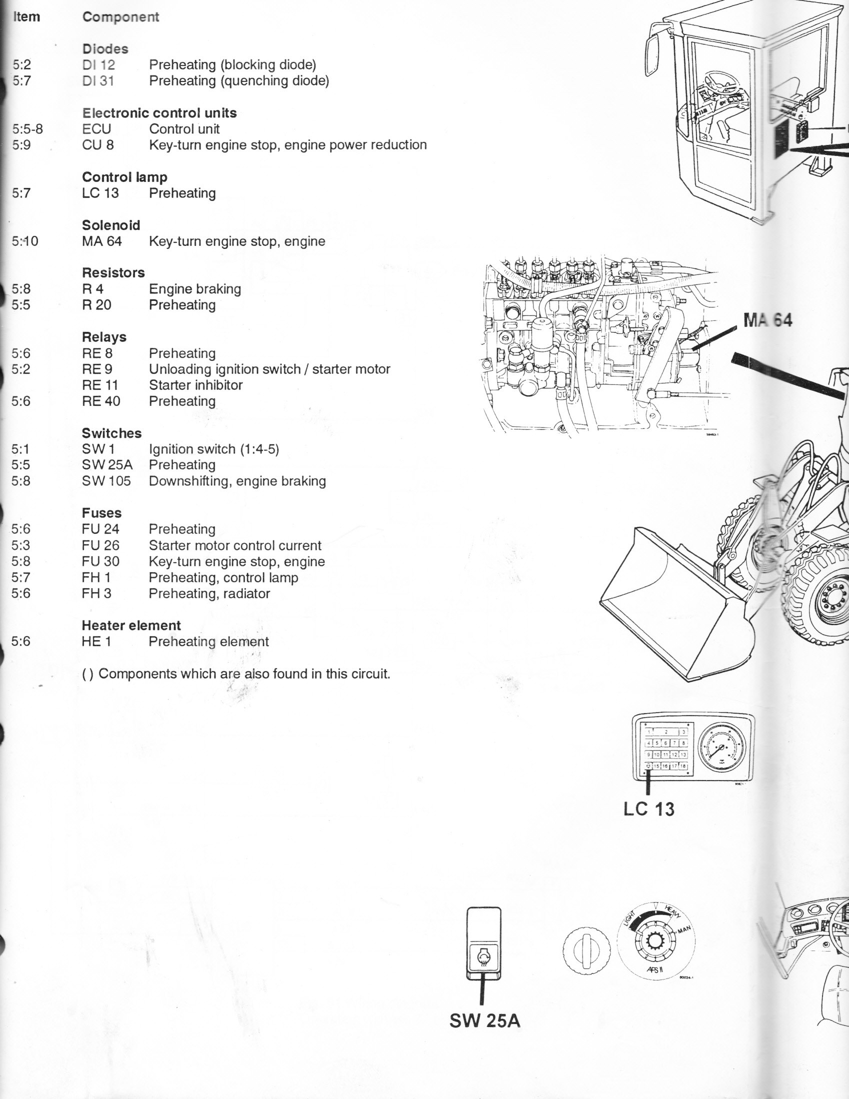 I've got a Volvo L70C loader with a problem. The loader was running fine  when last used. Now, after a couple of months | Volvo L70c Wiring Diagram |  | JustAnswer