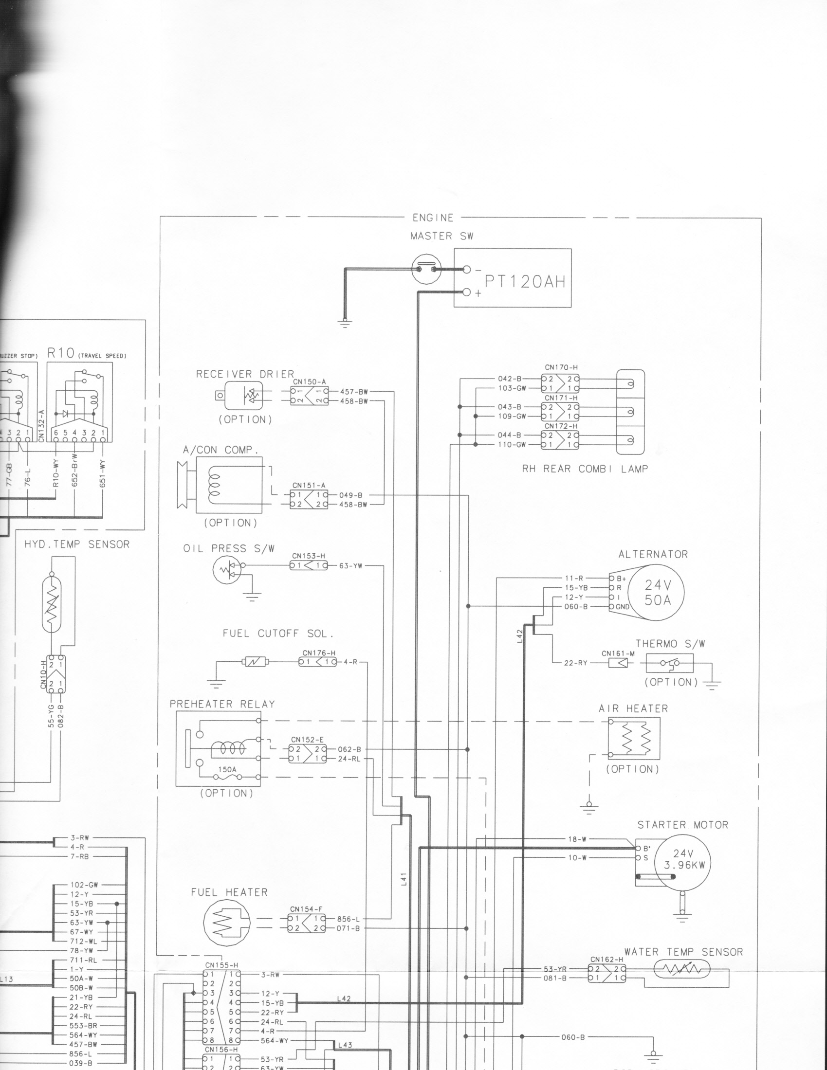 Looking For Mech With Experience 1995 Samsung Se130lcm 2 Wiring Diagrams Hello I Do Have A Good Schematic It Is Just Extra Large Scanned In Sections To See If You Can Piece Together At Site