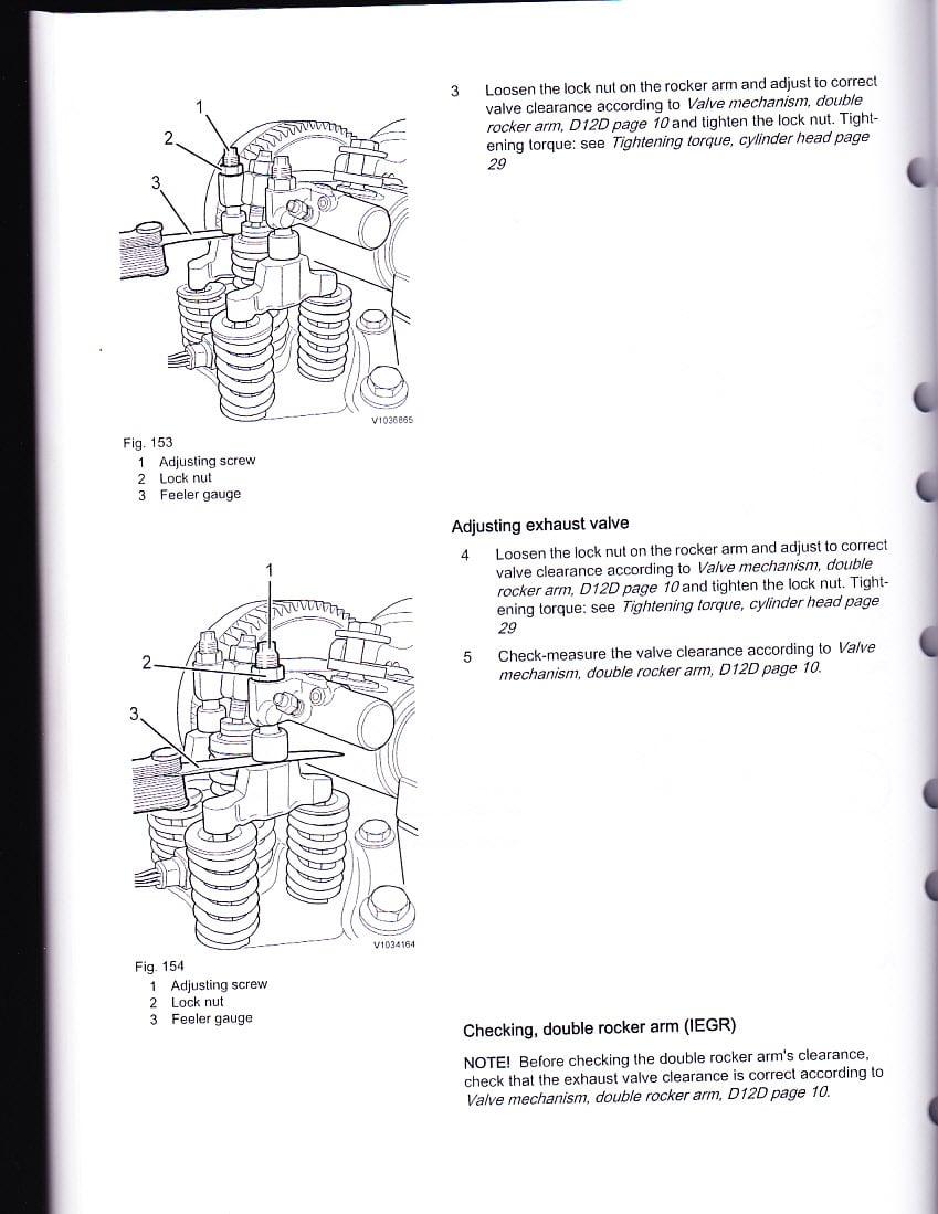 D on Volvo Truck Injectors