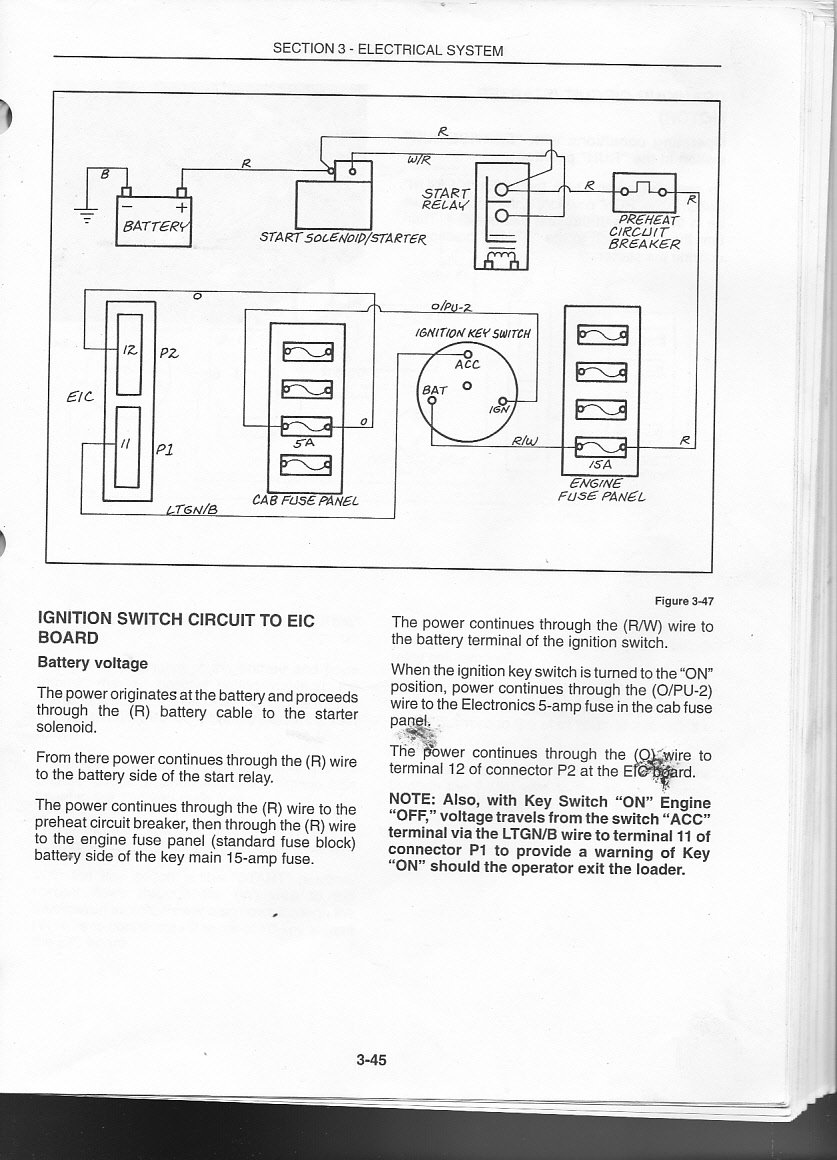 Lx665 Wiring Diagram Schematics 400 Amp Service Im Working On A New Holland Lx 665 For Friend Serial Number