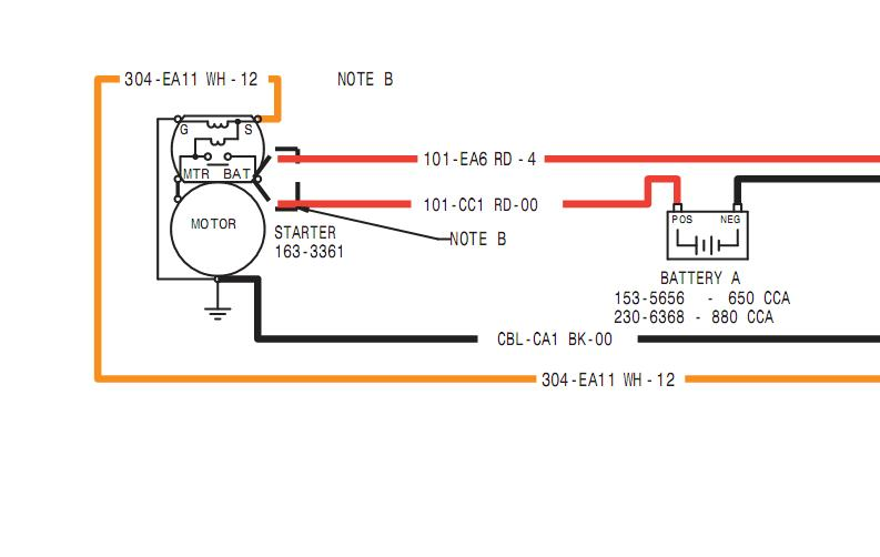 i have a cat 257 skid steer and have an electrical problem ... caterpillar 3208 alternator wiring diagram