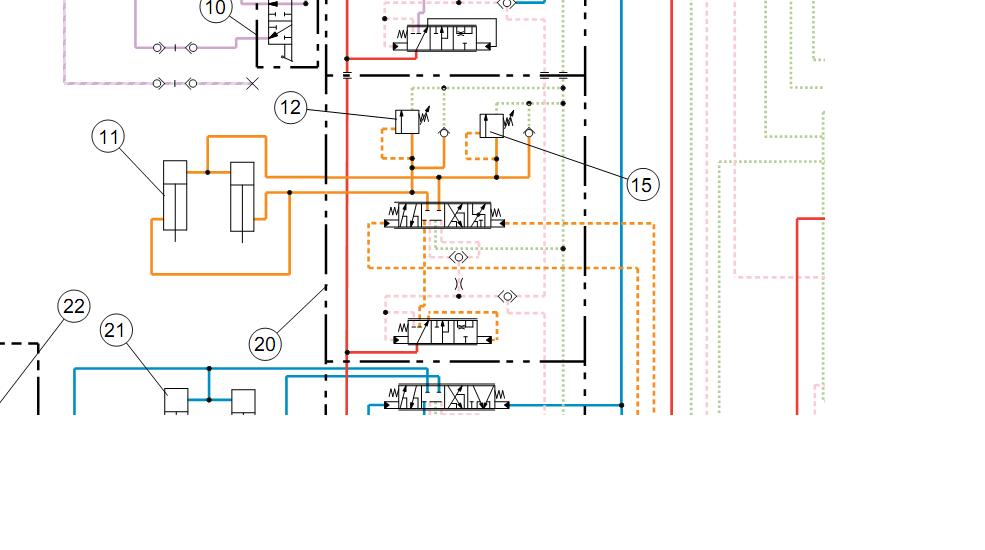 i need the hydraulic flow diagram for the loader bucket ... cat 420d wiring diagram on q cat 6 wiring diagram