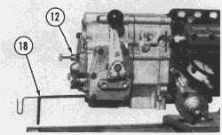 How do i get the tool to turn up the 3306 Cat motor injector