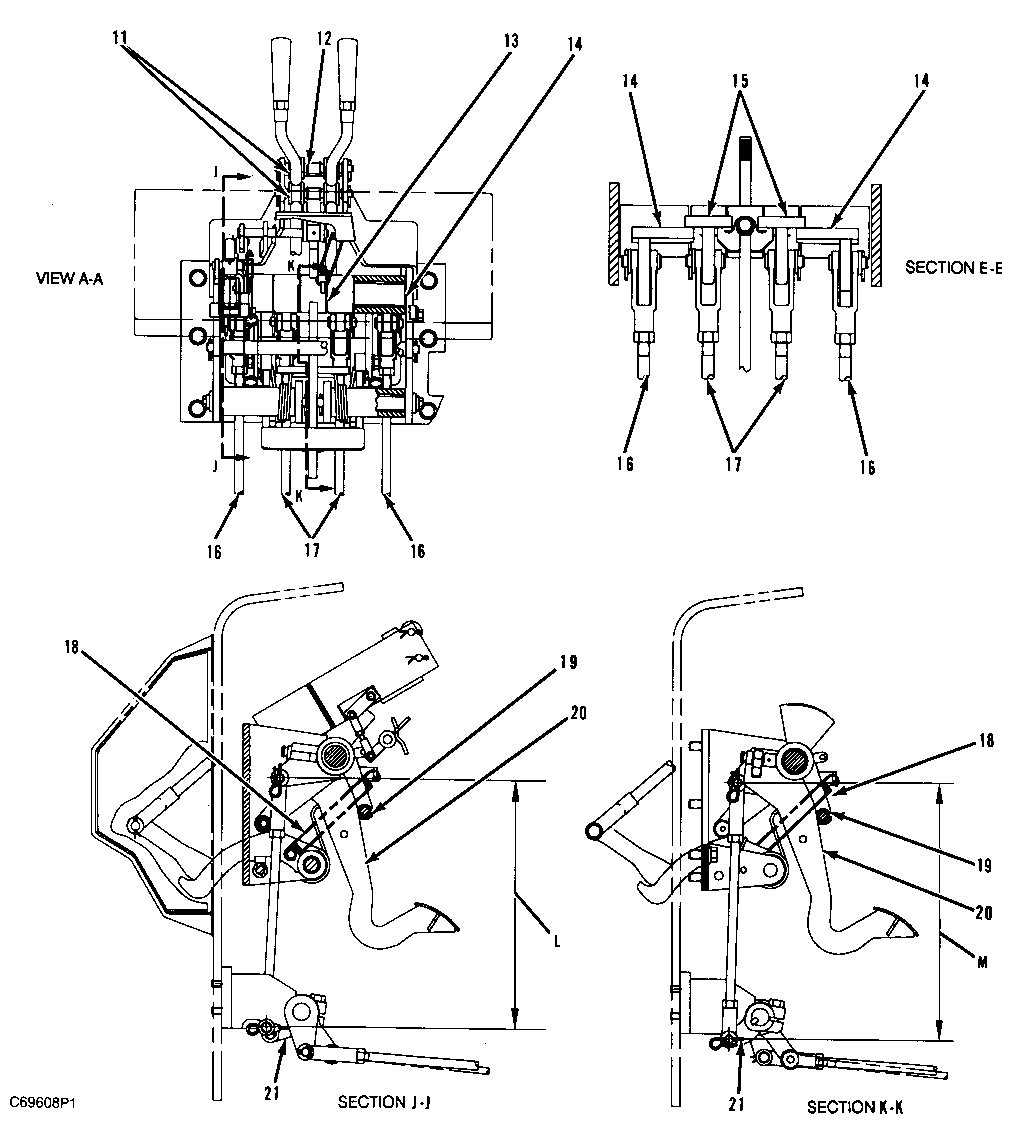 1989 ford f150 clutch adjustment diagram
