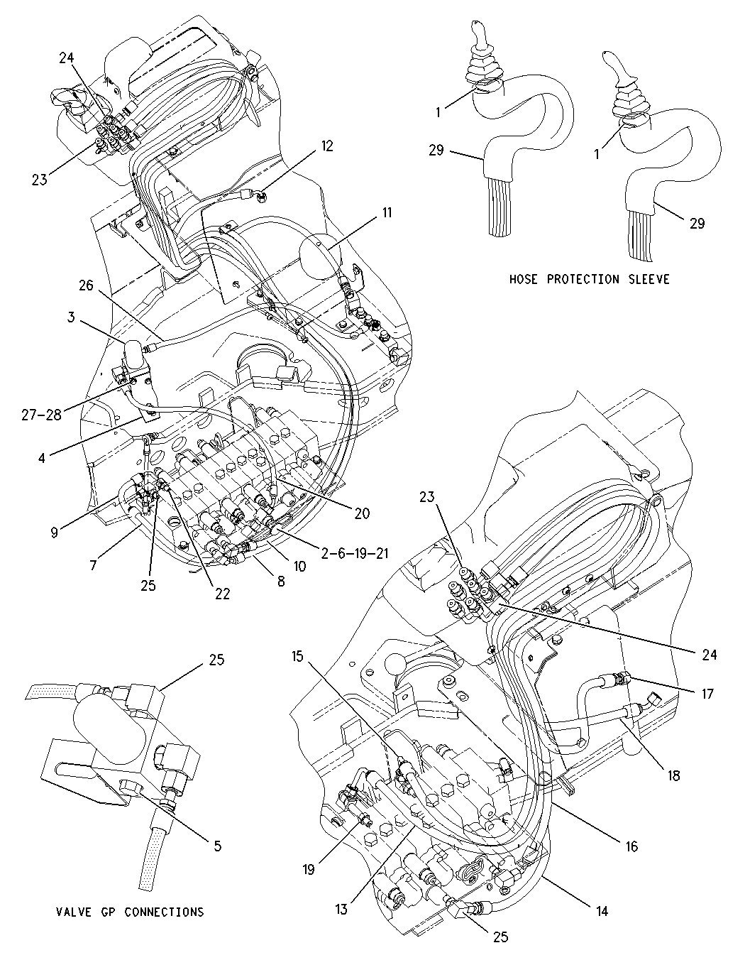 caterpillar d3 hydraulc schematics