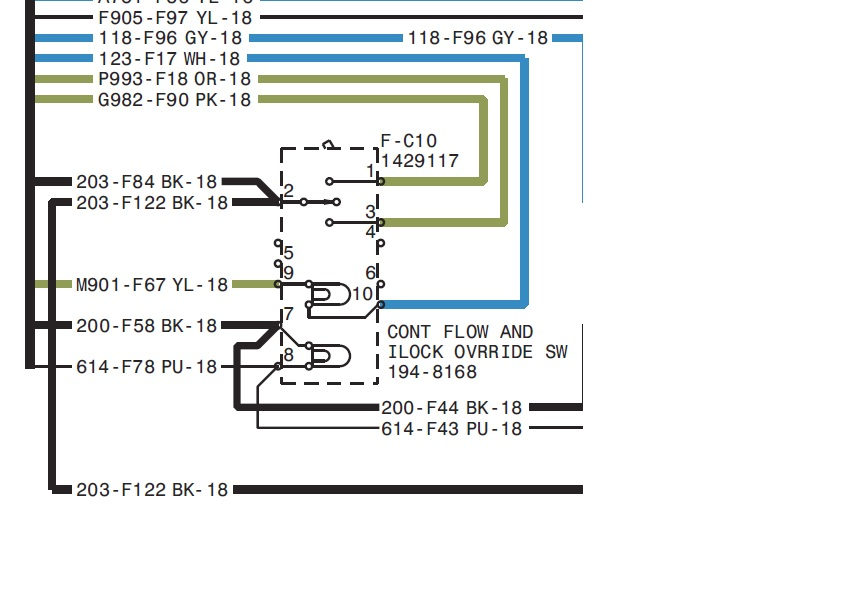 2011 06 09_033611_cf il_switch finally worked on my 257 to see what was wrong with aux hydraulics color wiring diagram for 287b cat skid steer at aneh.co