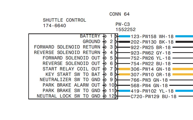 2011 09 10_034733_416d_shuttle_control 416d cat backhoe shift problem tractor has been parked under cat 426b backhoe wiring diagram at panicattacktreatment.co
