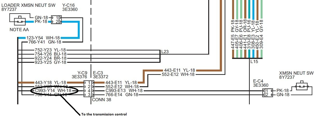 2012 05 27_222729_416c_disconnect_switches my 1998 cat 416c backhoe transmission neutralize system is not cat 426b backhoe wiring diagram at panicattacktreatment.co