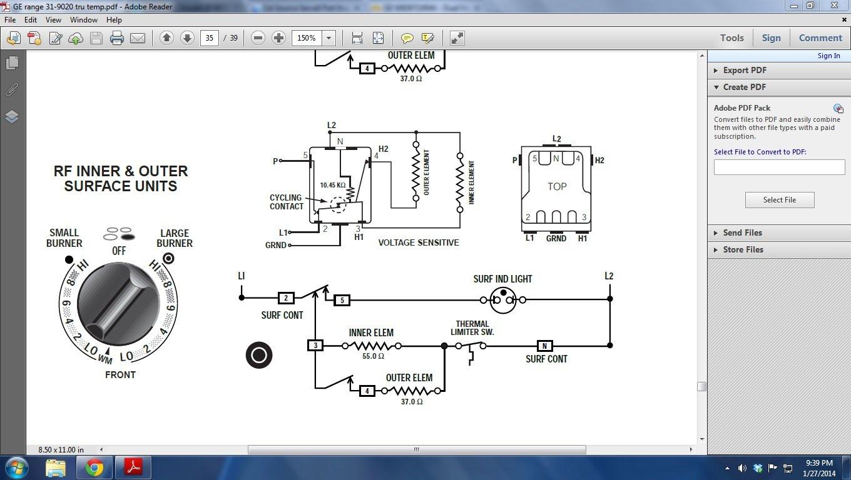 I Have A Ge Model Jb 965s0c1ss Stove  I Have To Replace