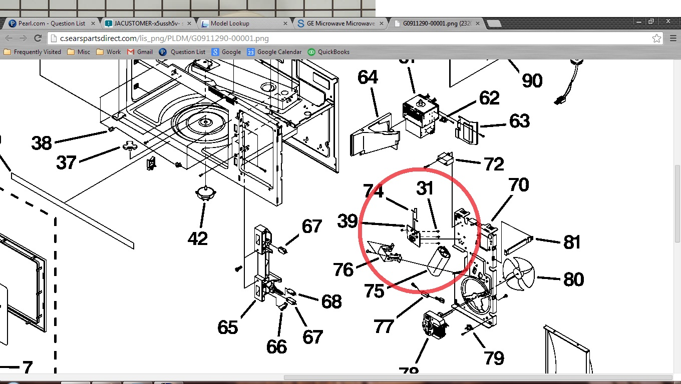 Ge Microwave Oven Fuse Location Trusted Wiring Diagrams Diagram No Power Rh Justanswer Com Spacesaver Repair
