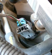 Electrical fuel injector connector removal on GMC Sierra
