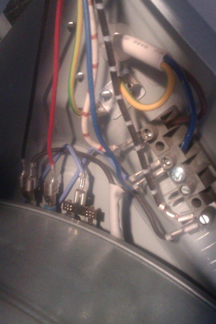 wiring diagram creda tumble dryer