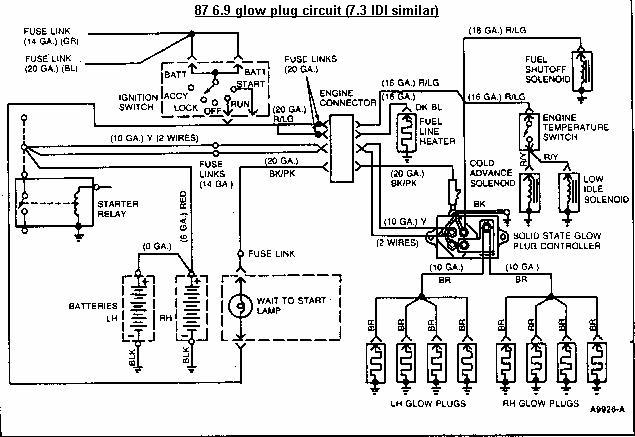 fuel pump pressure switch wiring diagram with 3gna0 Trouble Shoot Glow Plugs 1990 International 4600 on 38216 Inertia Switch Just Some Fyi as well Wiring Diagram For 1997 Four Winds Hurricane Motorhome besides Discussion T30026 ds538617 also 92 Chevy Lumina Fuel Filter Diagram furthermore 3gna0 Trouble Shoot Glow Plugs 1990 International 4600.