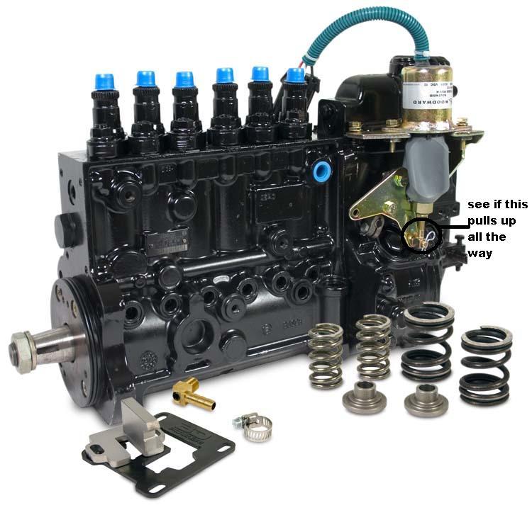 1996 dodge ram 3500 diesel  motor runs as as starter is