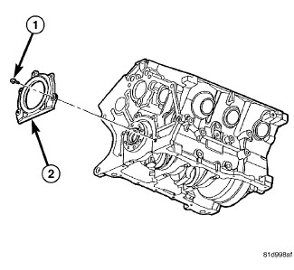 Can you cause a rear main seal oil leak while replacing a transmission?