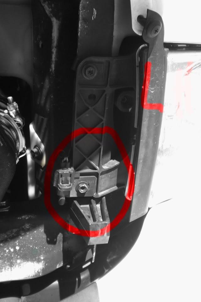 Ambient Temp on 2003 Chevy Silverado Temp Sensor Location
