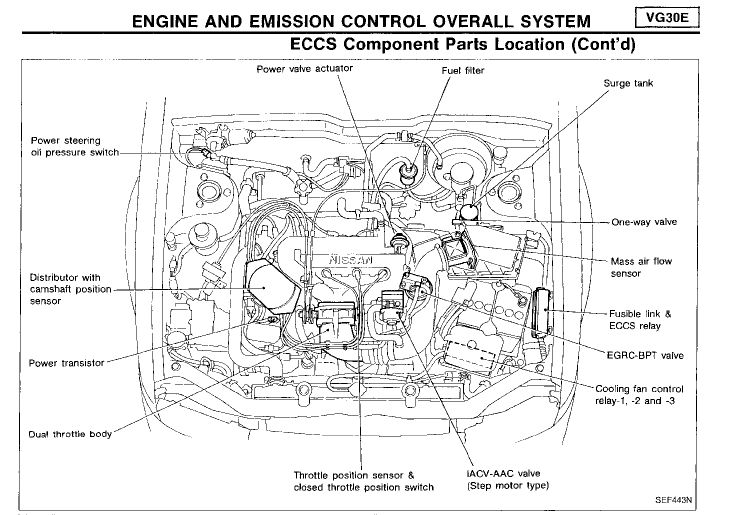 2010 nissan maxima engine parts