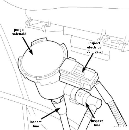 Location Of Purge Valve Solenoid