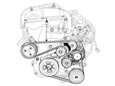 Whats The Serpentine Belt Diagram For A 2012 Sonata 4 Cyl Turbo