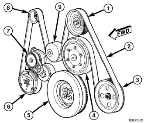 2013 Ram 2500 Belt Diagram