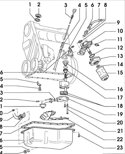 1 8t vw engine schematic vw racing engines