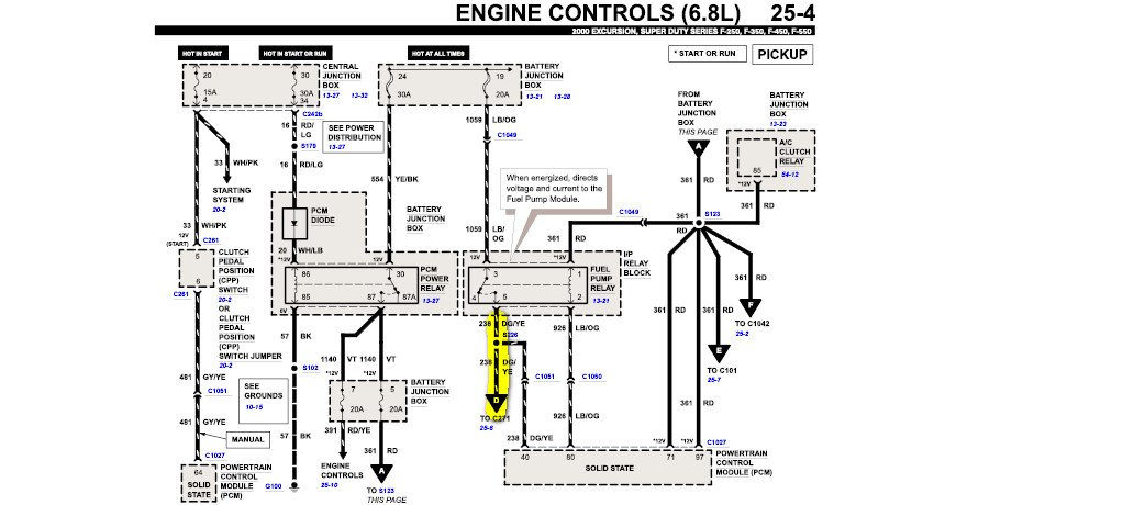 Ford Super Duty V1 0 Wiring Diagram | Wiring Diagram on