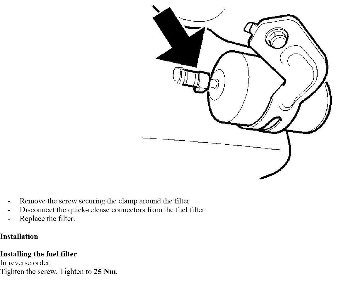 Volvo S Fuel Filter Picture on Diagram For 2007 Volvo S60
