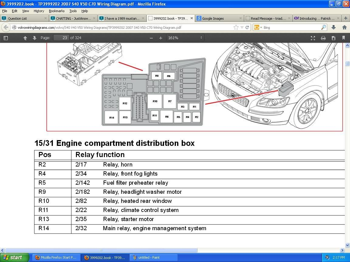 811a 2008 s40 starter wiring diagram | wiring library  wiring library