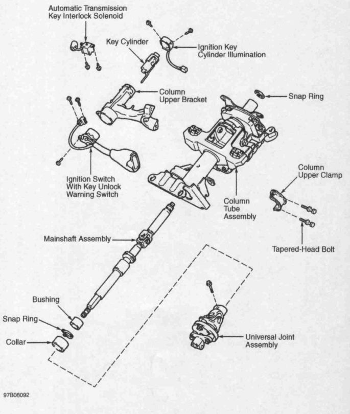 95 camry wiring diagram i have a 95 toyota camry le with an ignition problem ...