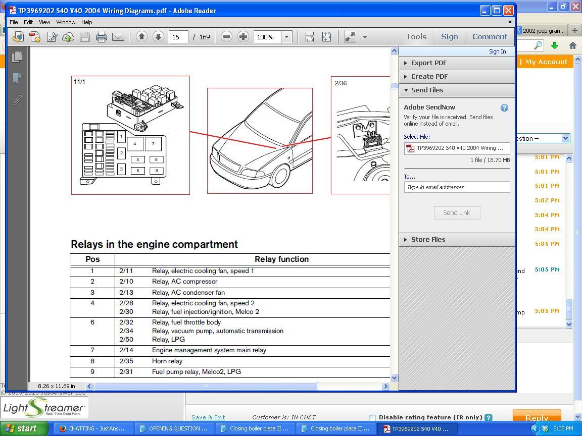 2005 Volvo Xc90 Fuel Pump Wiring Diagram : Volvo s fuel pump wiring diagram auto parts