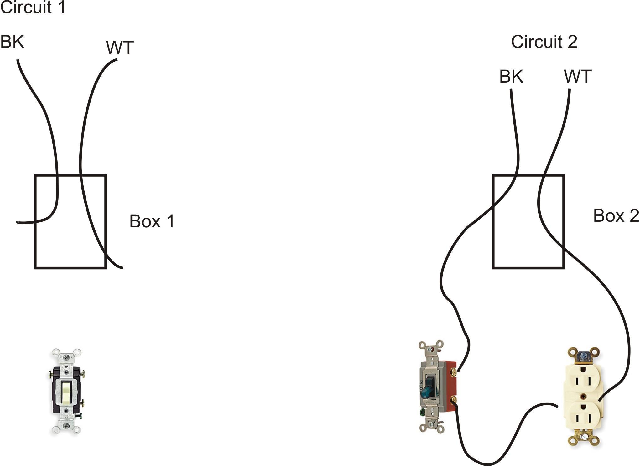 I am adding a three way switch to a formally single pole light ...
