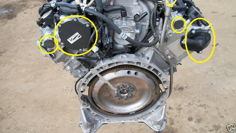 W212 2010 E350 4matic I Have Found Oil Leaking At The