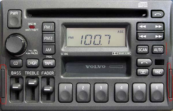 How do i get my radio code for my 97' 850 turbo?
