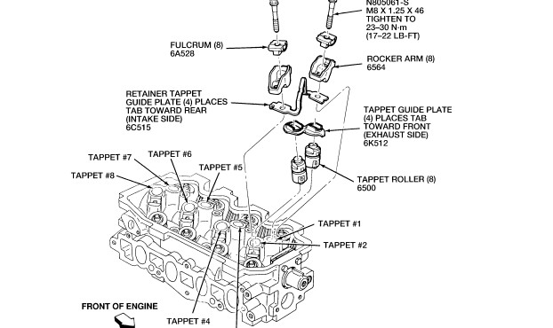 How tough is it to adjust / repair a lifter in a 1993 1 9 liter ford
