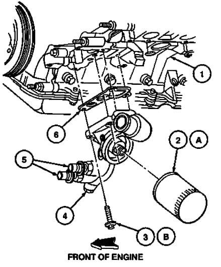 cougar hi i have the 4 6 liter motor puddle John Deere Oil Filter start engine and check for leaks