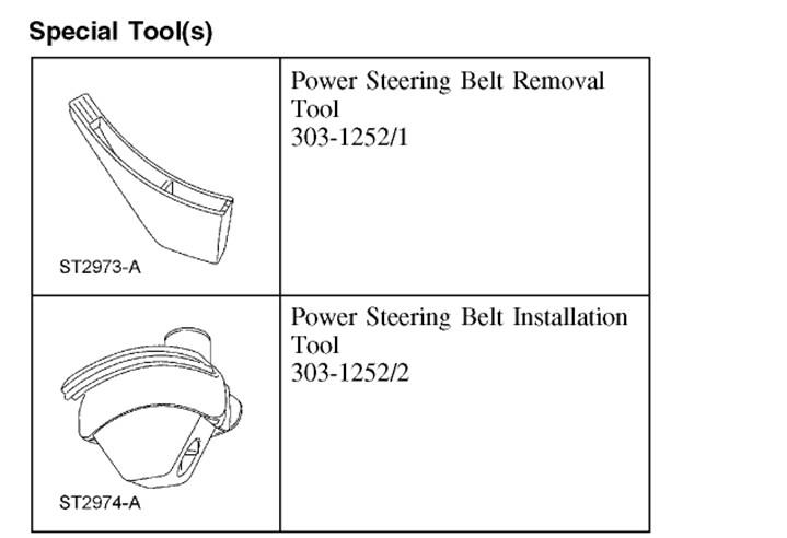 how to change pump stering belt outlander 2010
