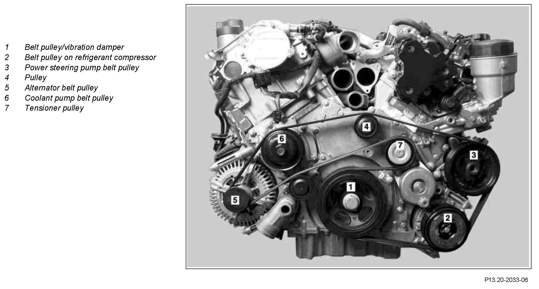 I Need The Belt Diagram For A Ml350 Cdi 2010 Model