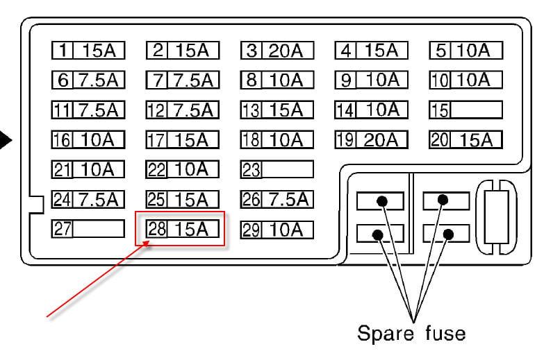2002 Infiniti Q45 Fuse Box - Wiring Diagram G8 on