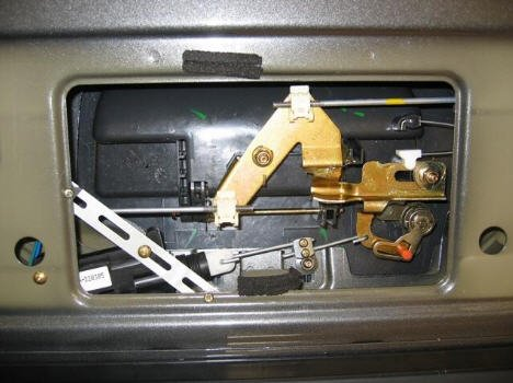 Frontier Tail Gate Latch