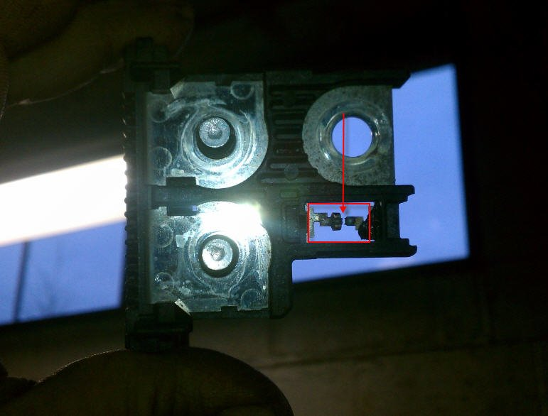Battery Fusible Links : The battery has been raced in reverse polarity on my