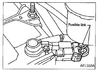 i have a 91 sentra ga16de and i have lost all signal from the 2014 Pathfinder Hood Latch Wiring full size image