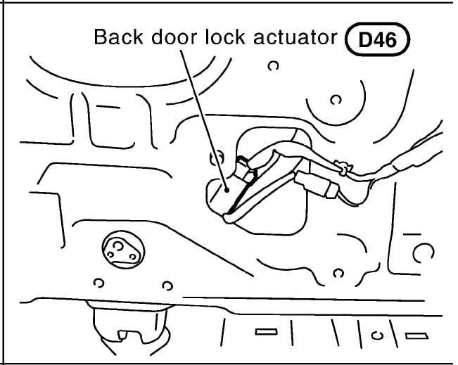 nissan xtrail 2006 central locking problem
