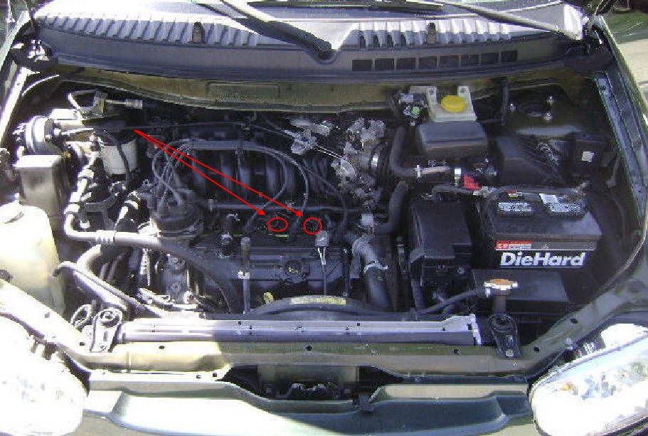 2001 nissan altima coolant sensor location html