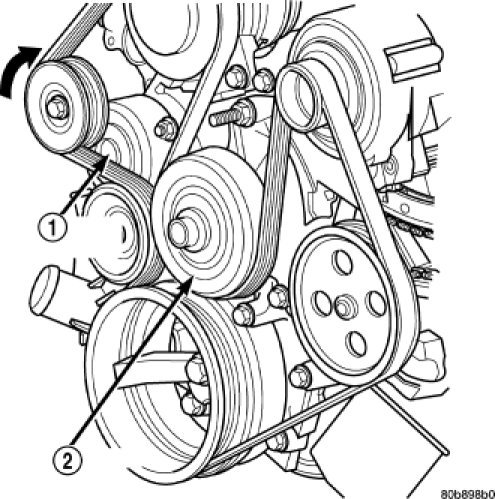2008 jeep commander serpentine belts diagram i dont have ...