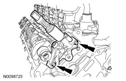where is egr located on 5.4 engine  justanswer