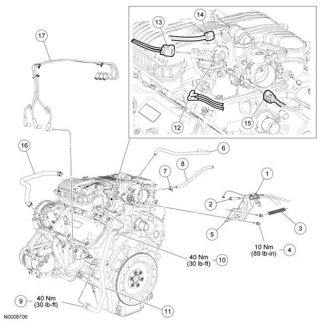 7o7gu Freestar Diagram Brake Booster Attaches on Spark Plug Wire Diagram
