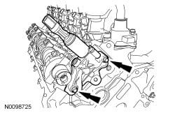 Got Error code P0022 on Ford F-150 5 4 V-8 2004  Rough idle