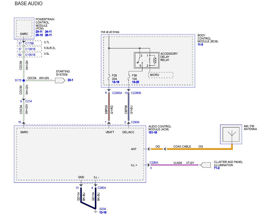 I need the wire diagram for the stereo and speakers for a ...